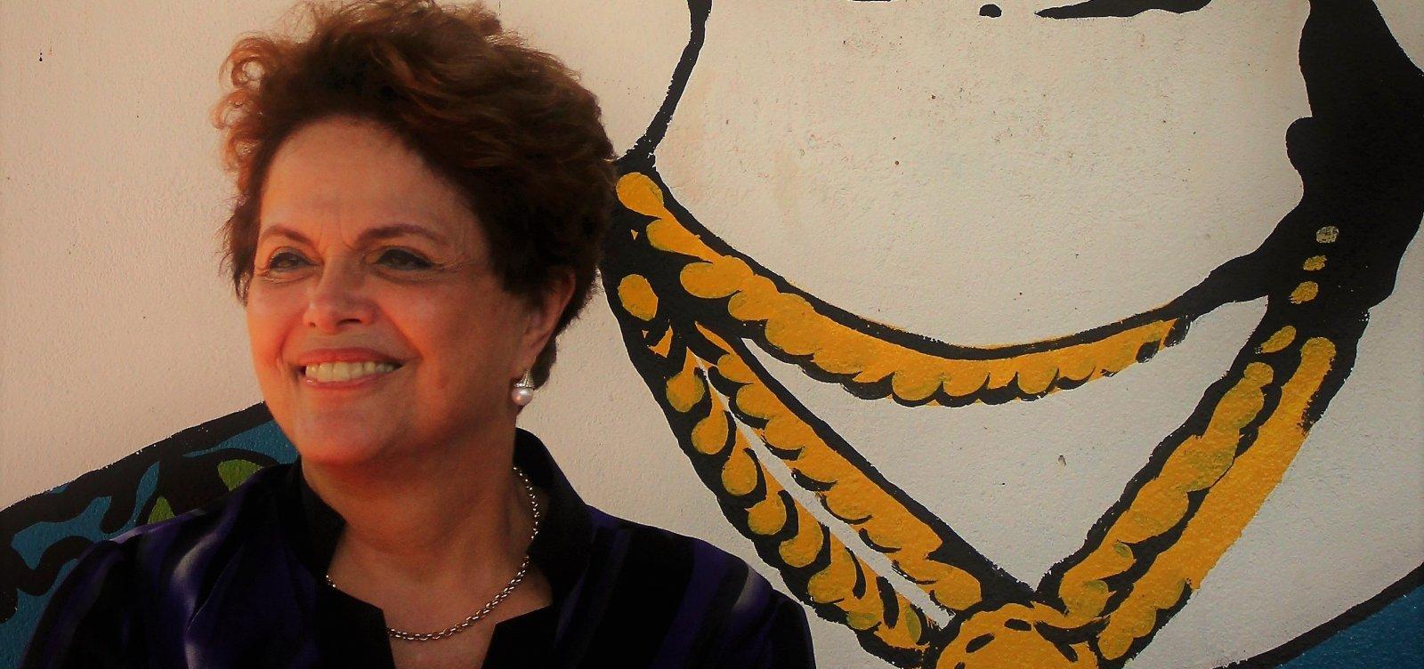 ['Bolsonaro morreu pela boca', diz Dilma após votar em MG]