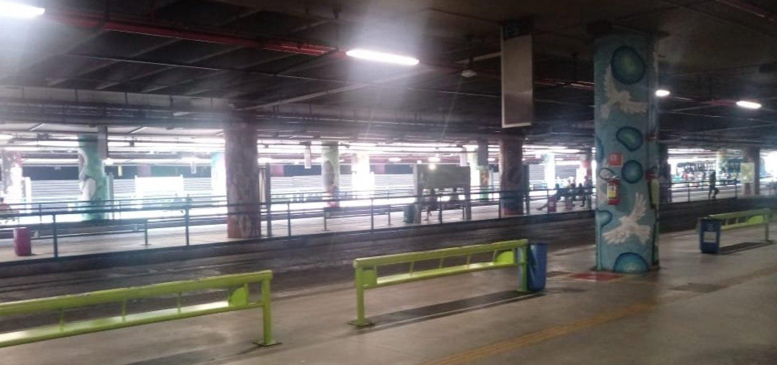 [Neto e Mota classificam como 'fake news' falta de ônibus em Salvador; fotos mostram Lapa vazia]
