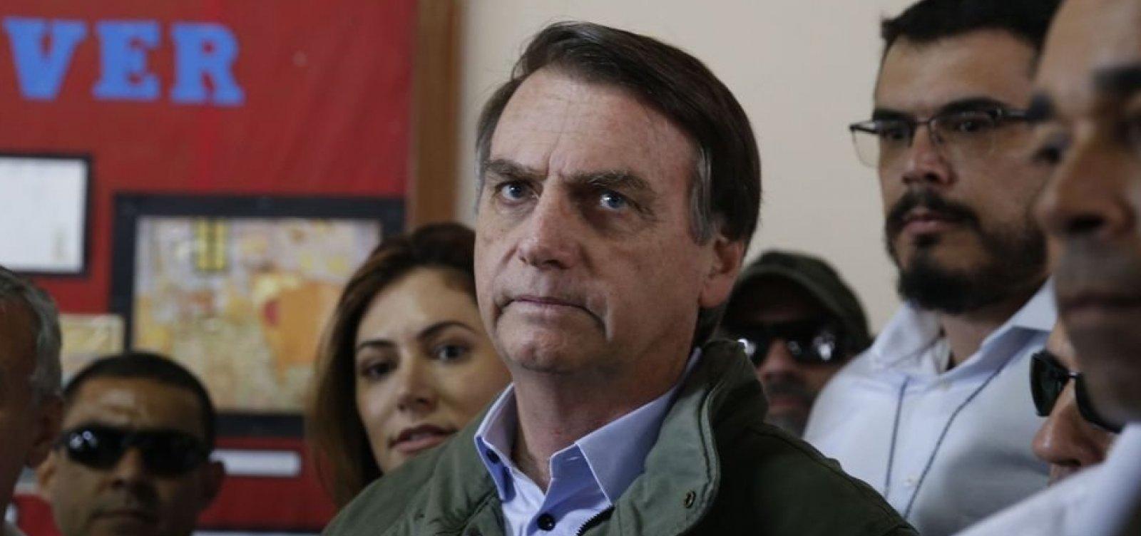 [Eleição de Bolsonaro representa 'enorme risco', segundo Anistia Internacional]