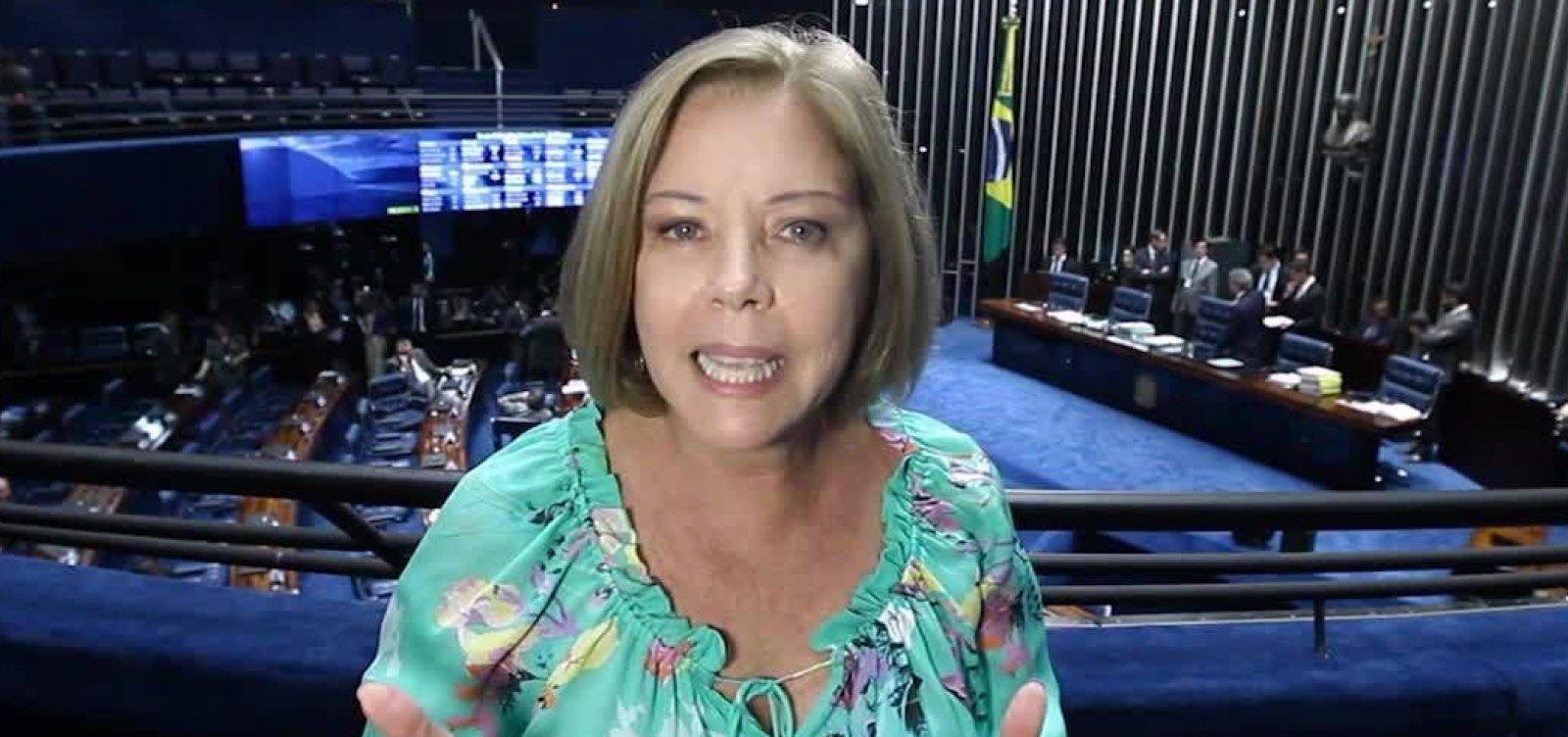 [Cantanhêde critica retórica de apoiadores e diz que Bolsonaro 'tem que abaixar a bola']
