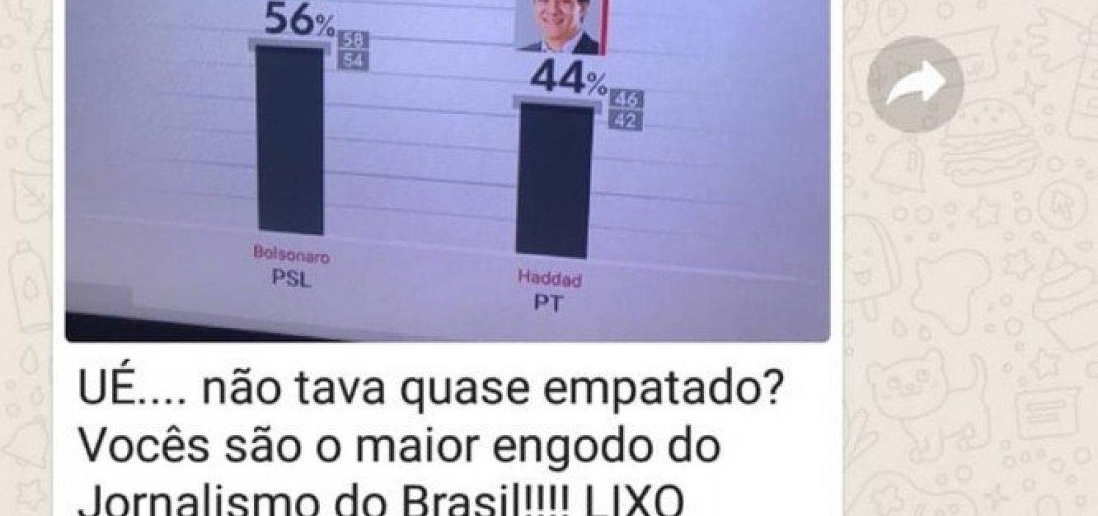 [Assessor de Bolsonaro chama jornalistas de 'lixo' após vitória]