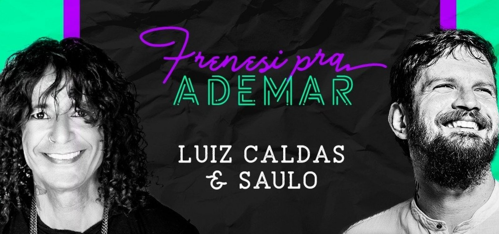 [Show 'Frenesi para Ademar' será transmitido no YouTube]