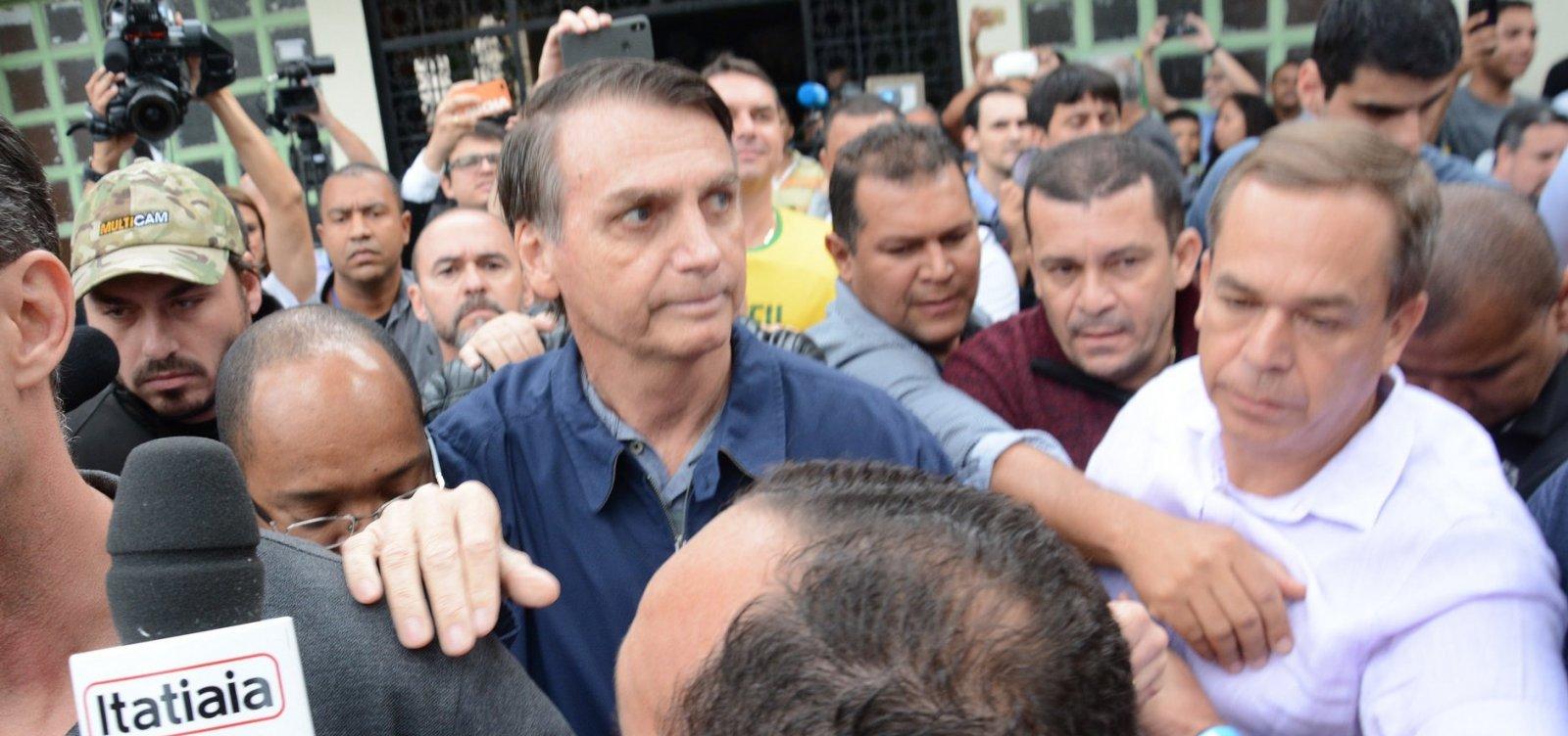 [Desempenho de Bolsonaro na Bahia foi pior do que o de Aécio e Serra]