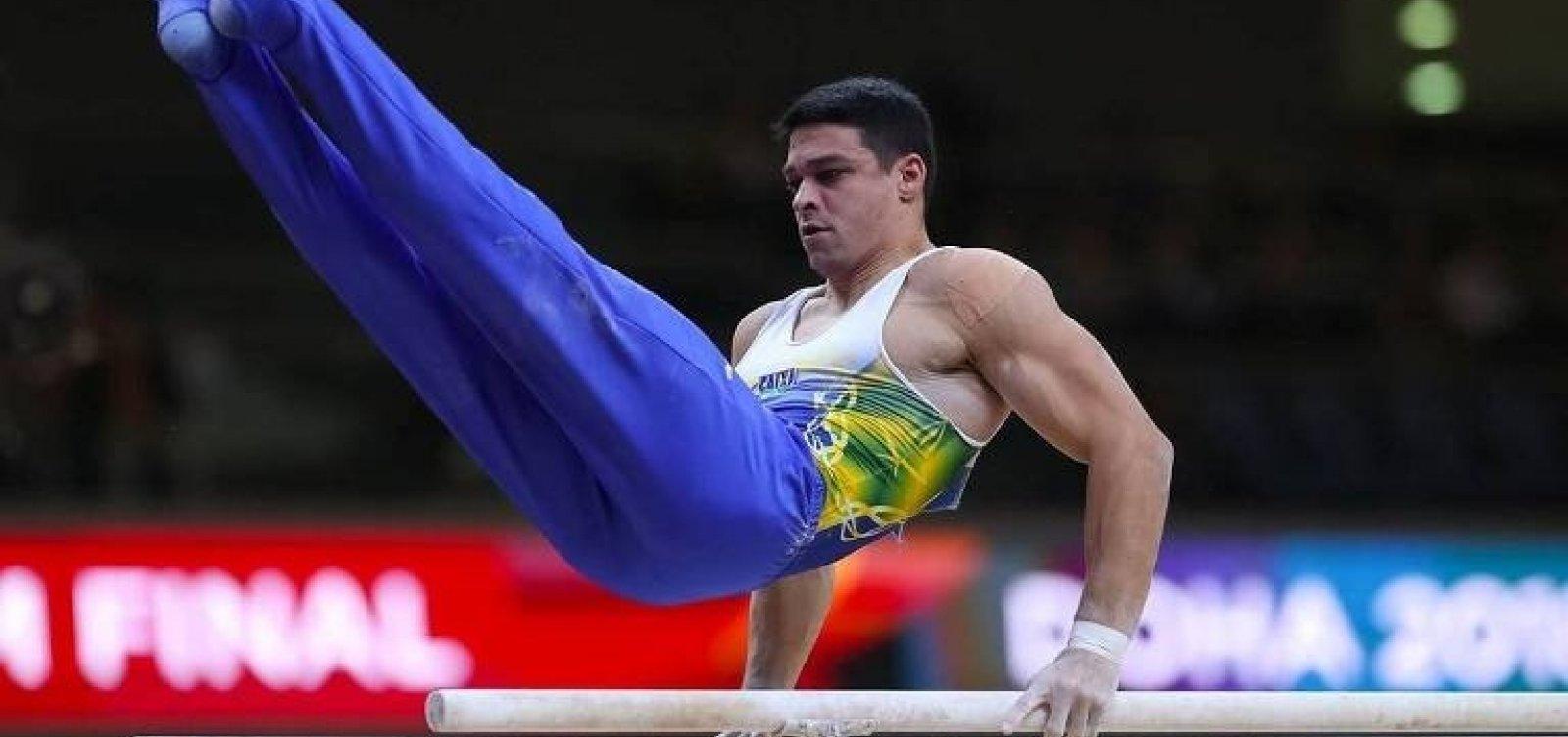 [Com falhas, equipe brasileira termina em sétimo no Mundial de ginástica artística]