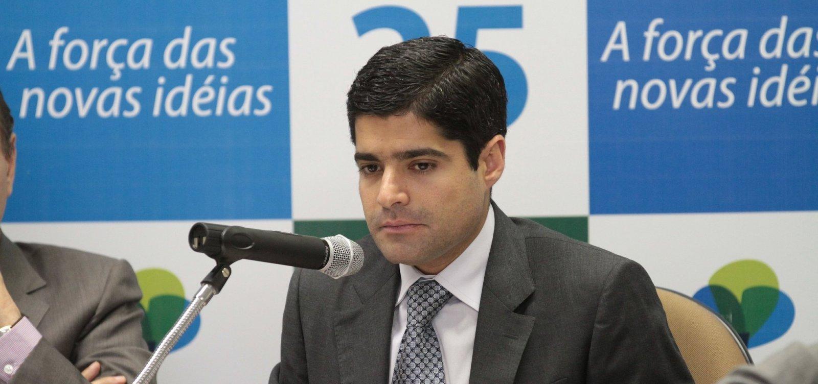 [ACM Neto mantém mistério sobre reunião com cúpula de Bolsonaro]
