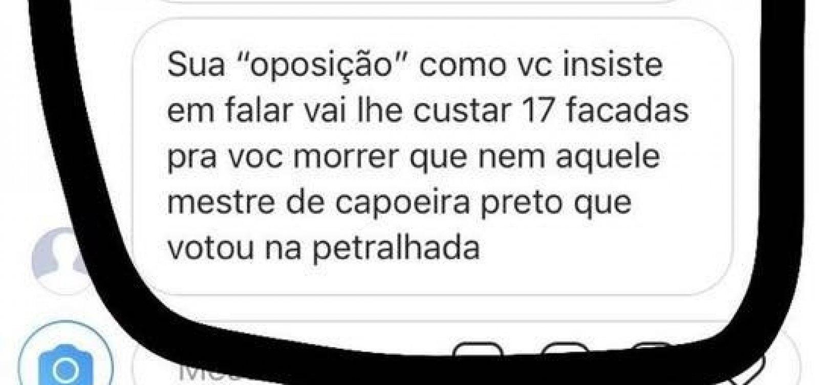 [Aluna do Colégio São Paulo é ameaçada de morte por colega que apoia Bolsonaro]