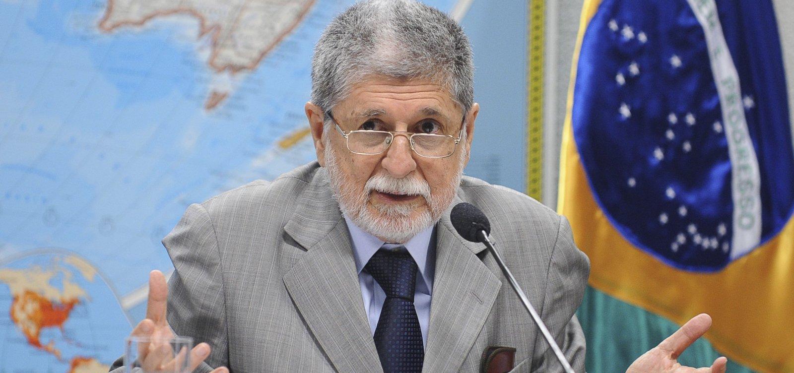 [Ex-chanceler Celso Amorim diz que Brasil quer fazer um 'Brexit' no Mercosul]
