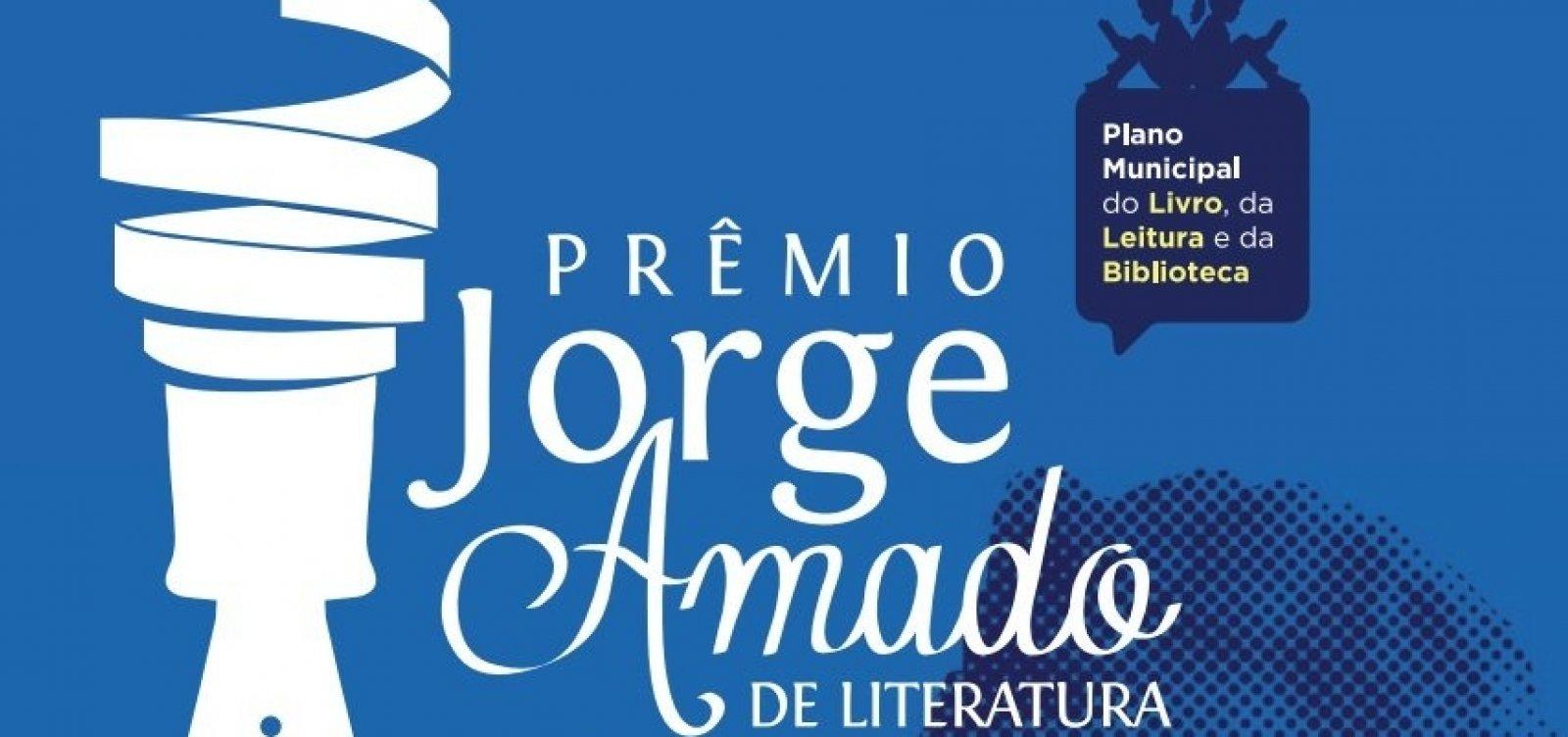 [Prefeitura divulga alunos vencedores do Prêmio Jorge Amado de Literatura]