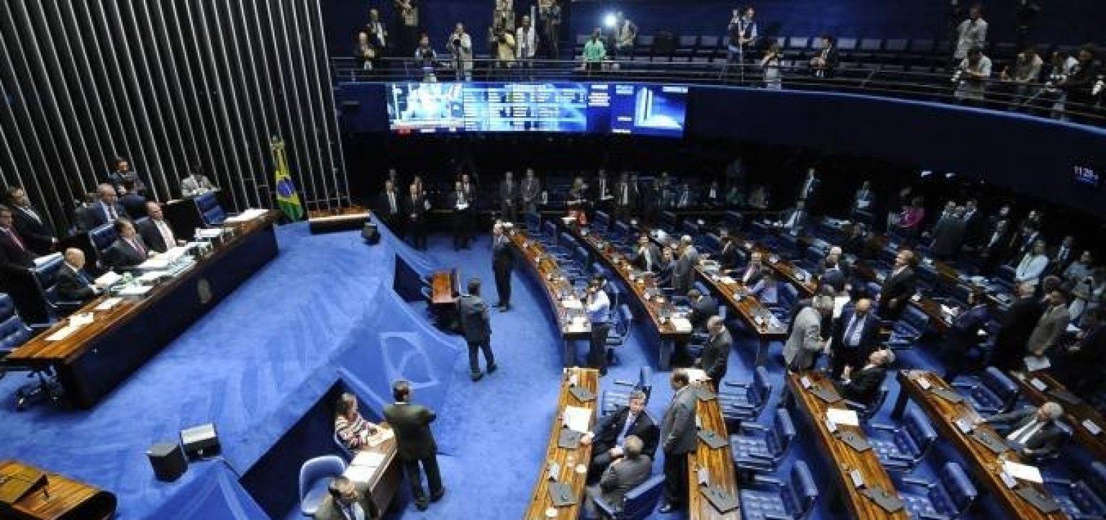 [Senado adia votação da ampliação da lei antiterrorismo ]