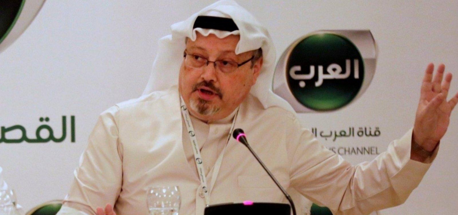 [Jornalista saudita foi morto por estrangulamento, diz procurador]