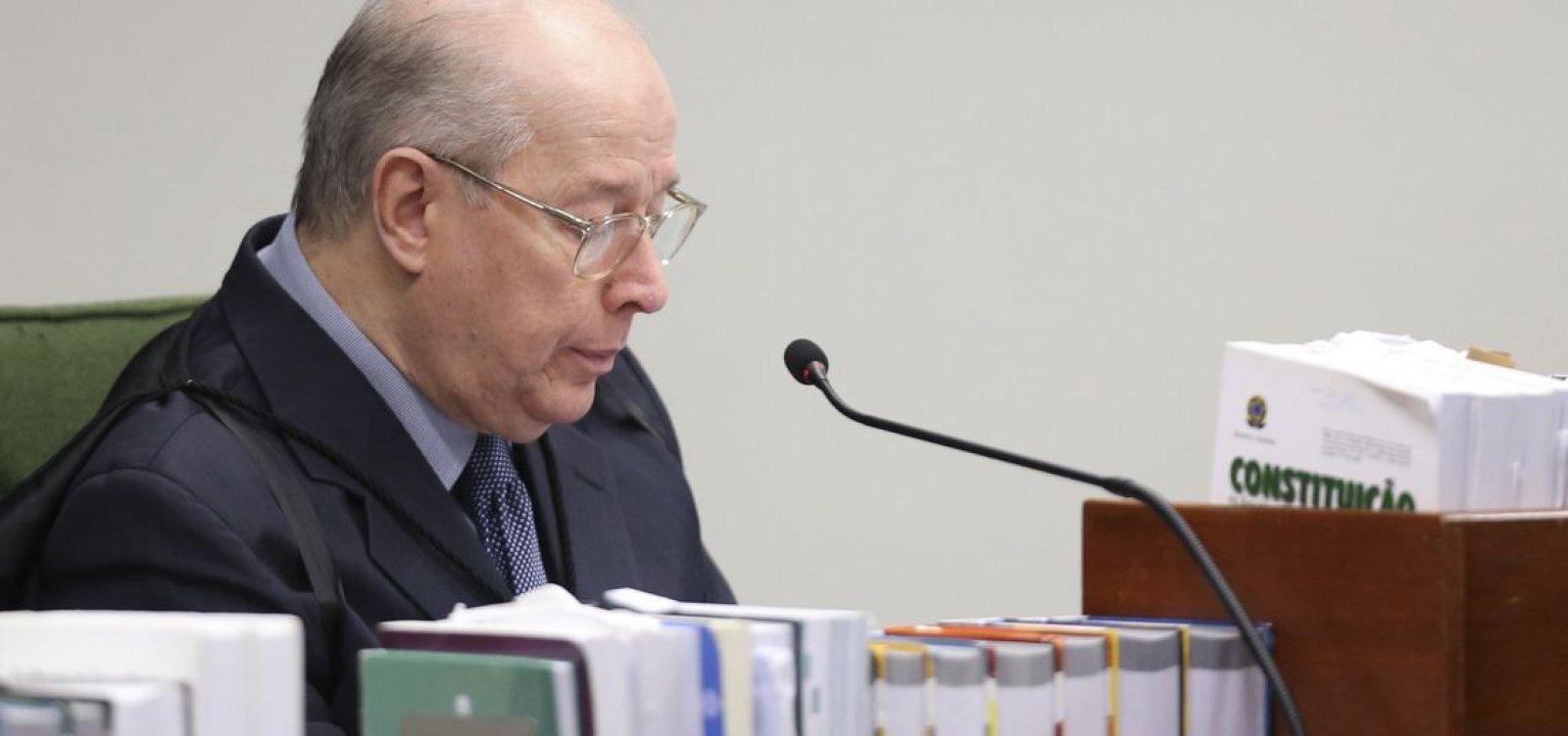 [Brasil tem expectativas de respeito à Constituição, diz Celso de Mello]
