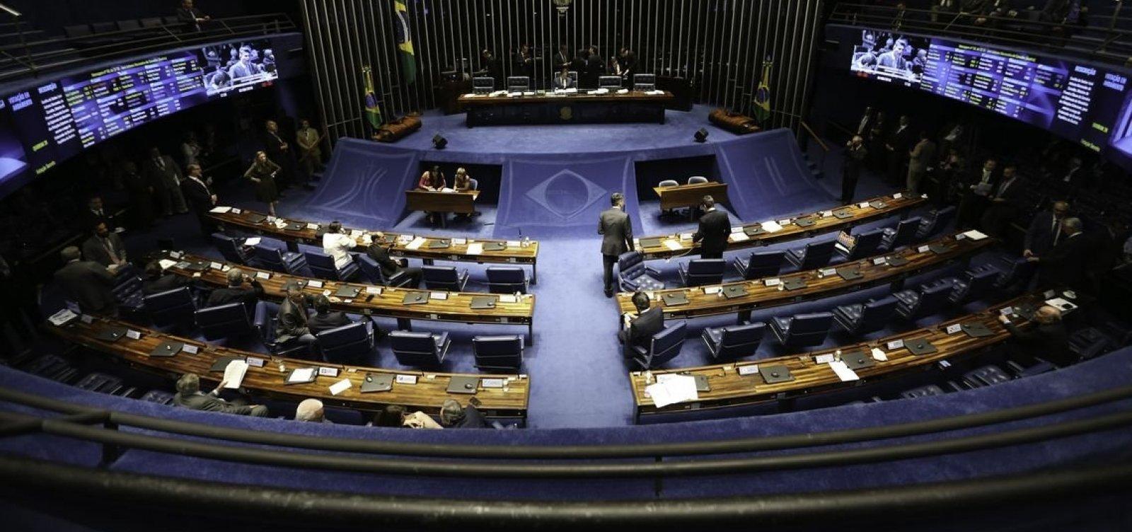 [Senado vota nomeações para cargos sem consultar Bolsonaro]