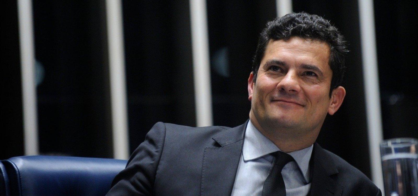 [Sérgio Moro quer implementar agenda 'anti-corrupção' no Ministério da Justiça]