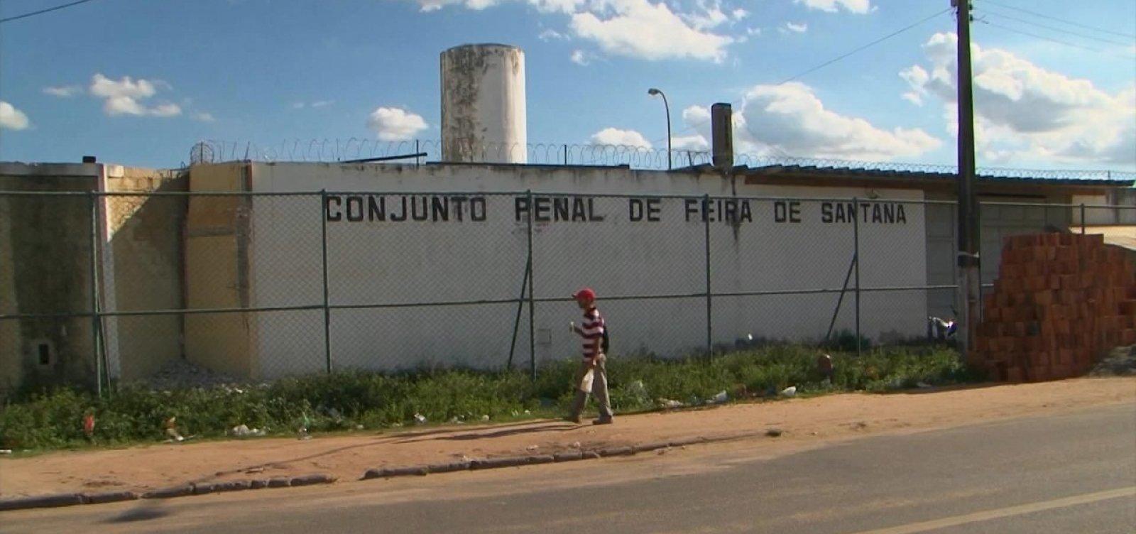[Justiça suspende decisão de prisão domiciliar para detentos em Feira de Santana]