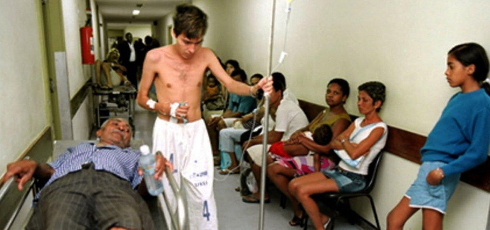 [Brasil gasta 3,8% do PIB em saúde pública]