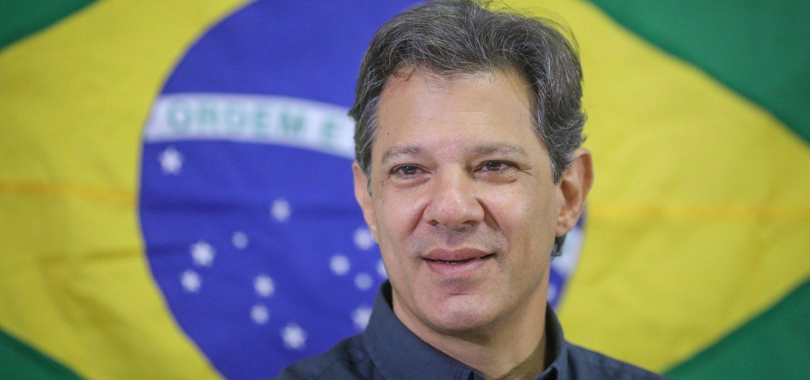 [Haddad diz que elite brasileira não entende conceito de democracia e república]