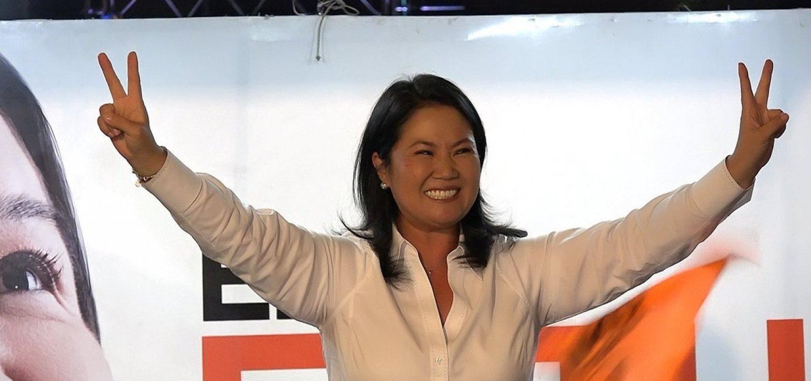 [Keiko Fujimori é levada para prisão no Peru]