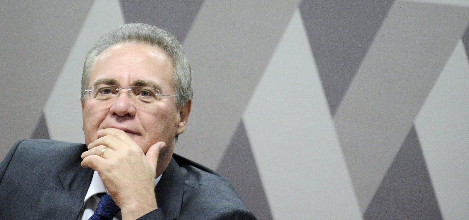 [Renan ganha apoio para presidir Senado, mas líderes buscam nome de centro]