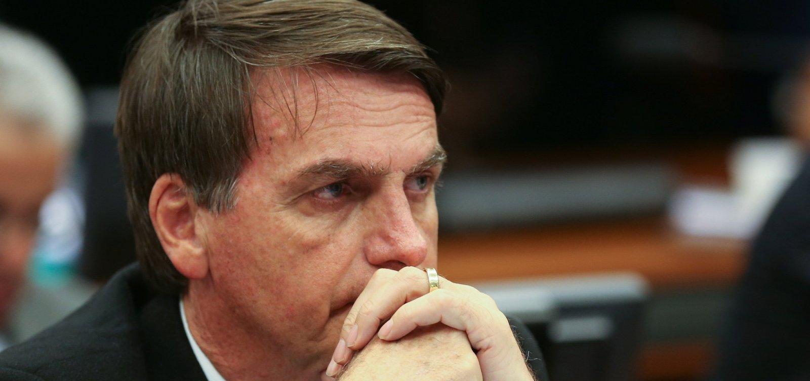 [PF obriga cinegrafista a apagar imagens de Bolsonaro]