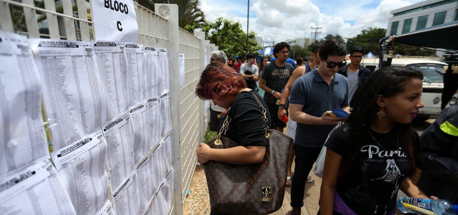 [Enem: Portões dos locais de prova serão fechados ao meio-dia na Bahia]
