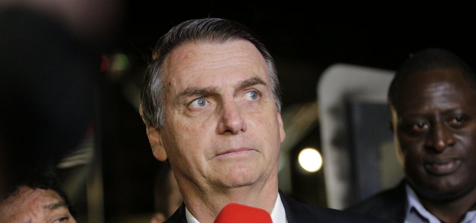 [Bolsonaro se reúne com comitivas da China e da Itália]