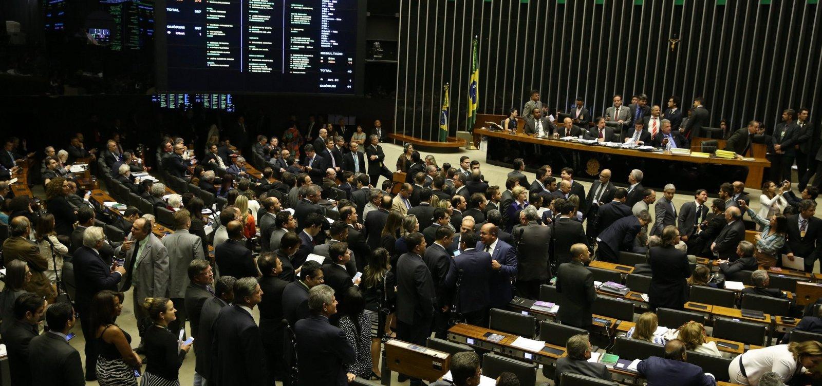 [Direção-Geral do Congresso veta jornalistas em sessão com Bolsonaro]