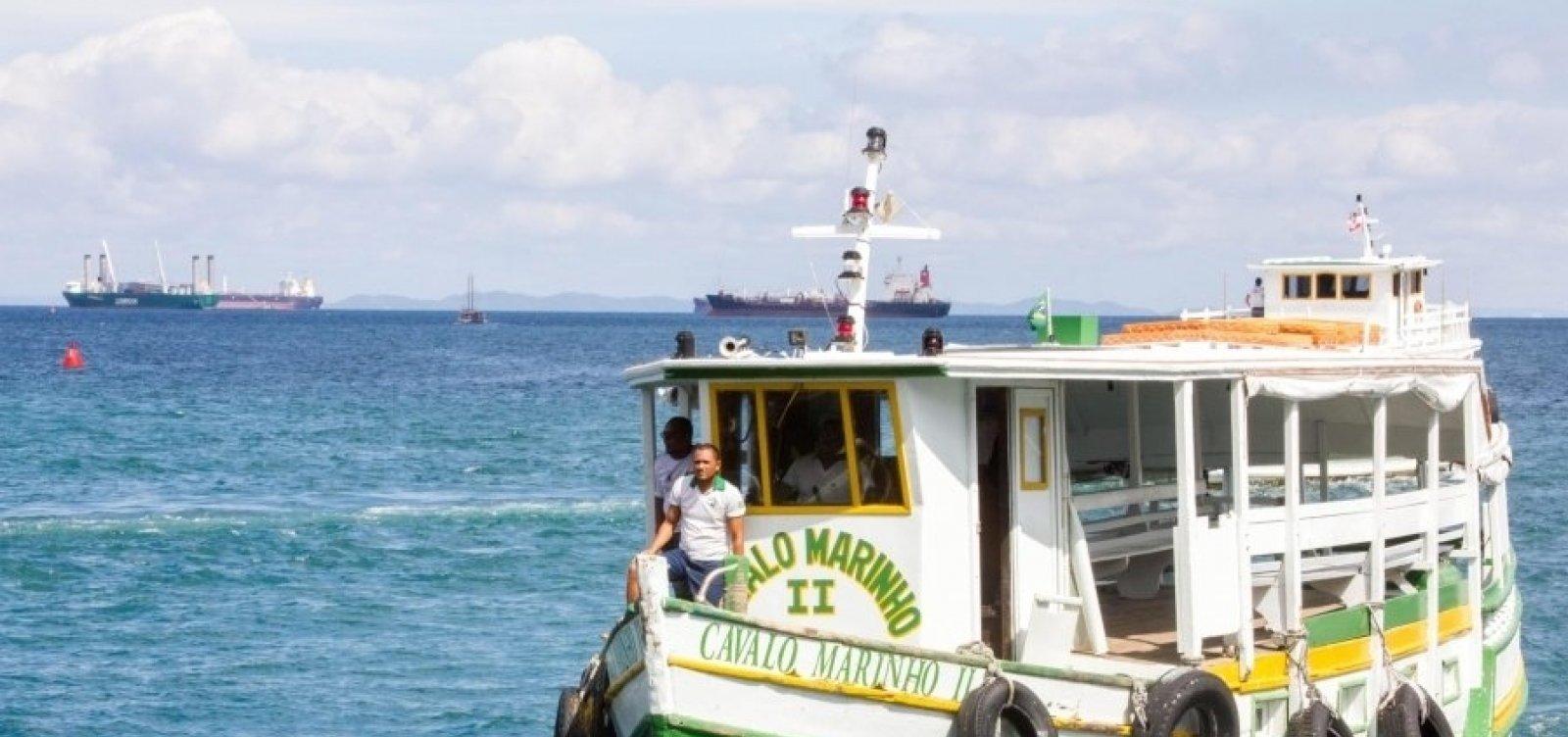 [Pelo 3º dia seguido, travessia Salvador-Mar Grande é encerrada mais cedo devido à maré baixa]