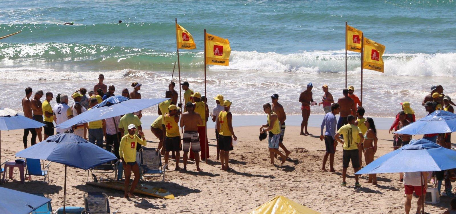 [Prefeitura abre 20 vagas para salva-vidas em Salvador]