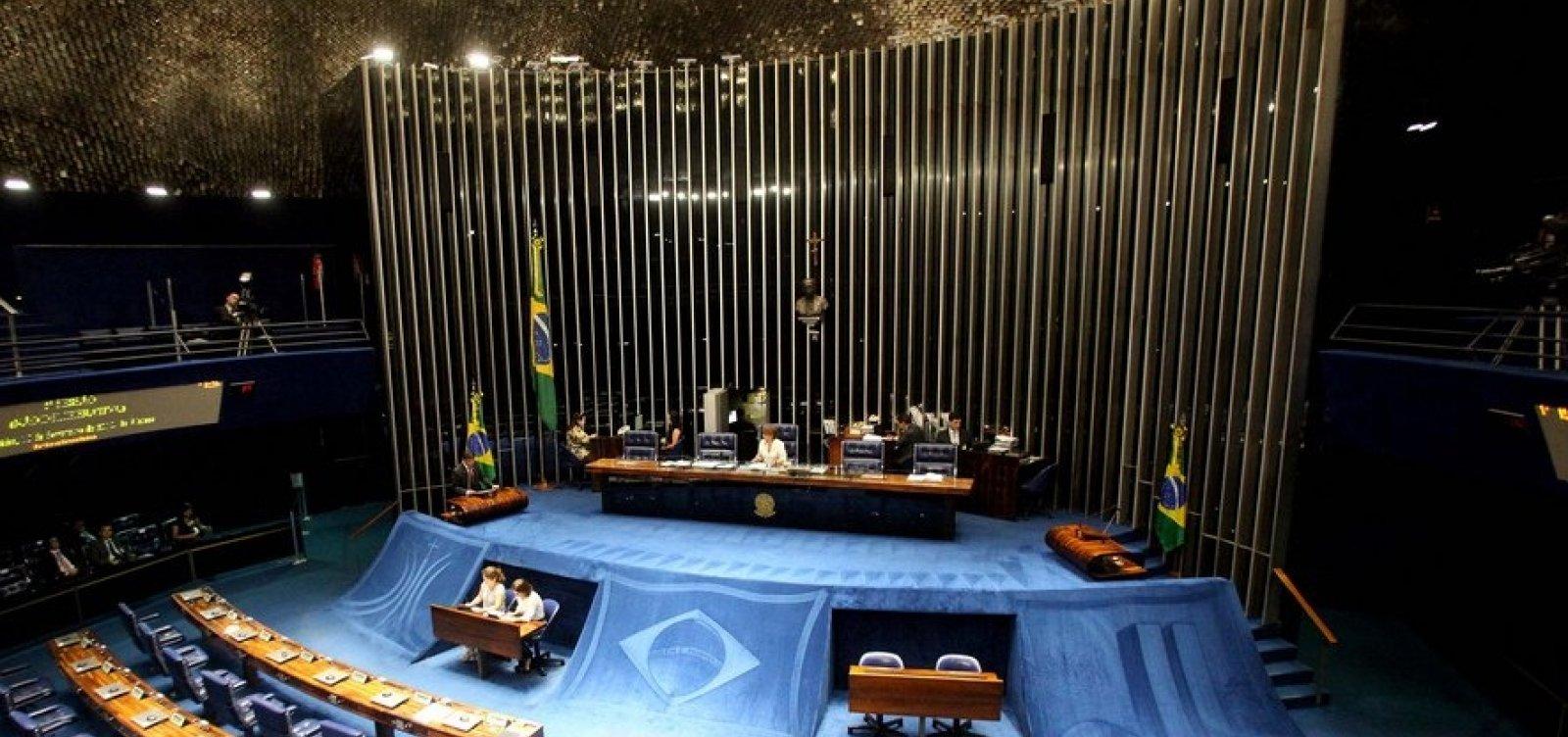 [Senado pode votar reajuste para ministros do STF a partir de hoje ]
