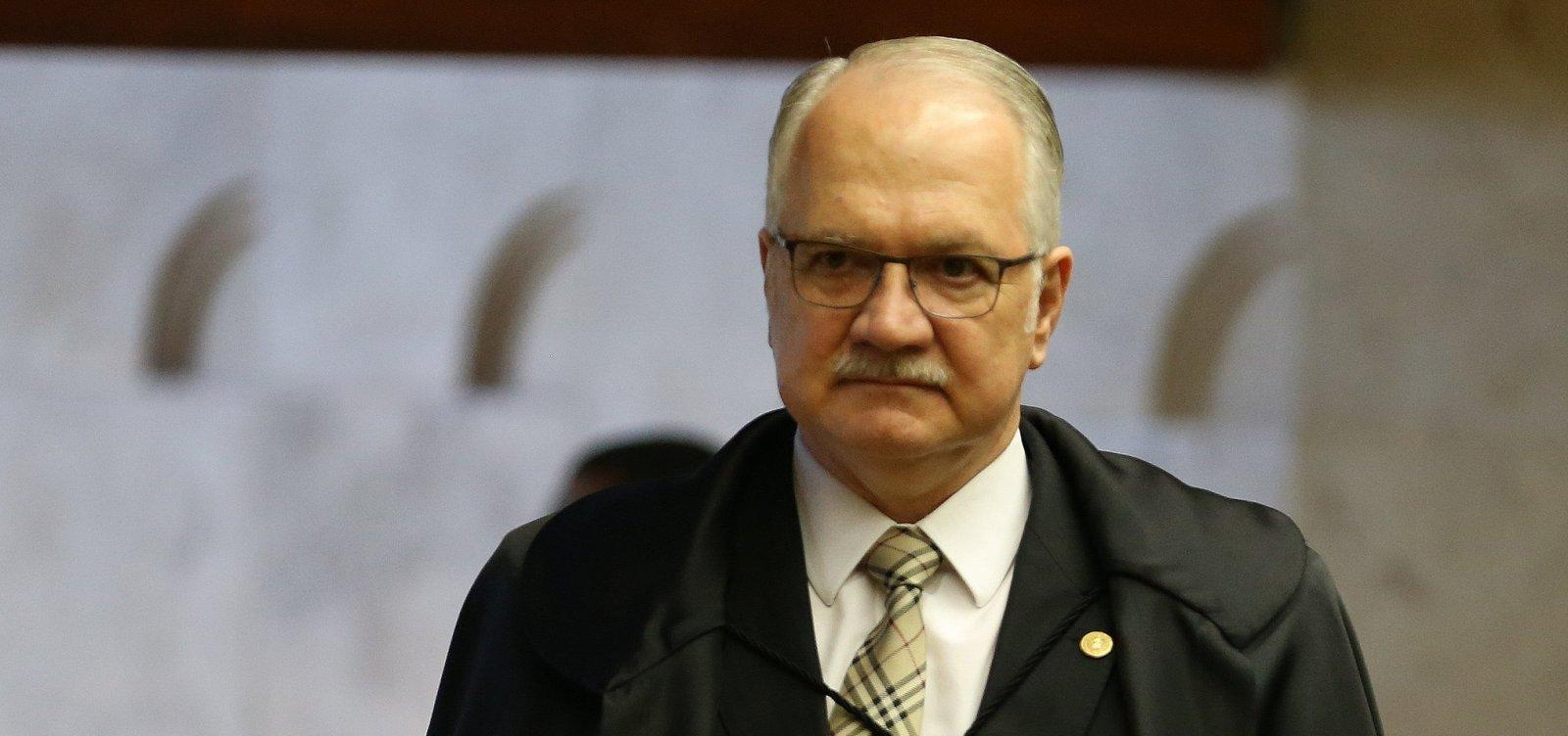 [Fachin diz que STF pode julgar habeas corpus de Lula ainda neste ano]