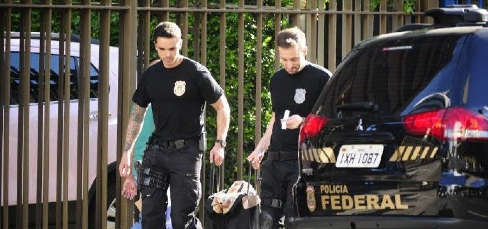 [Polícia Federal realiza buscas para apurar propinas da Odebrecht ]