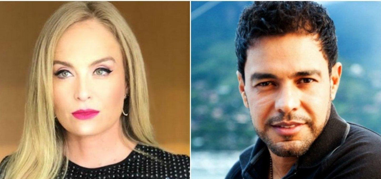 [Angélica e Zezé di Camargo desmentem Leão Lobo sobre suposto caso: 'Irresponsável']