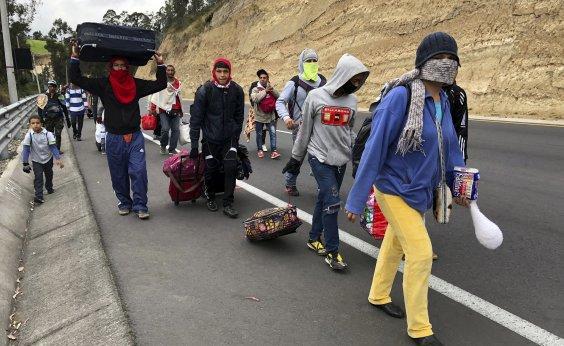 [Refugiados e migrantes venezuelanos chegam a 3 milhões no mundo, atesta ONU]