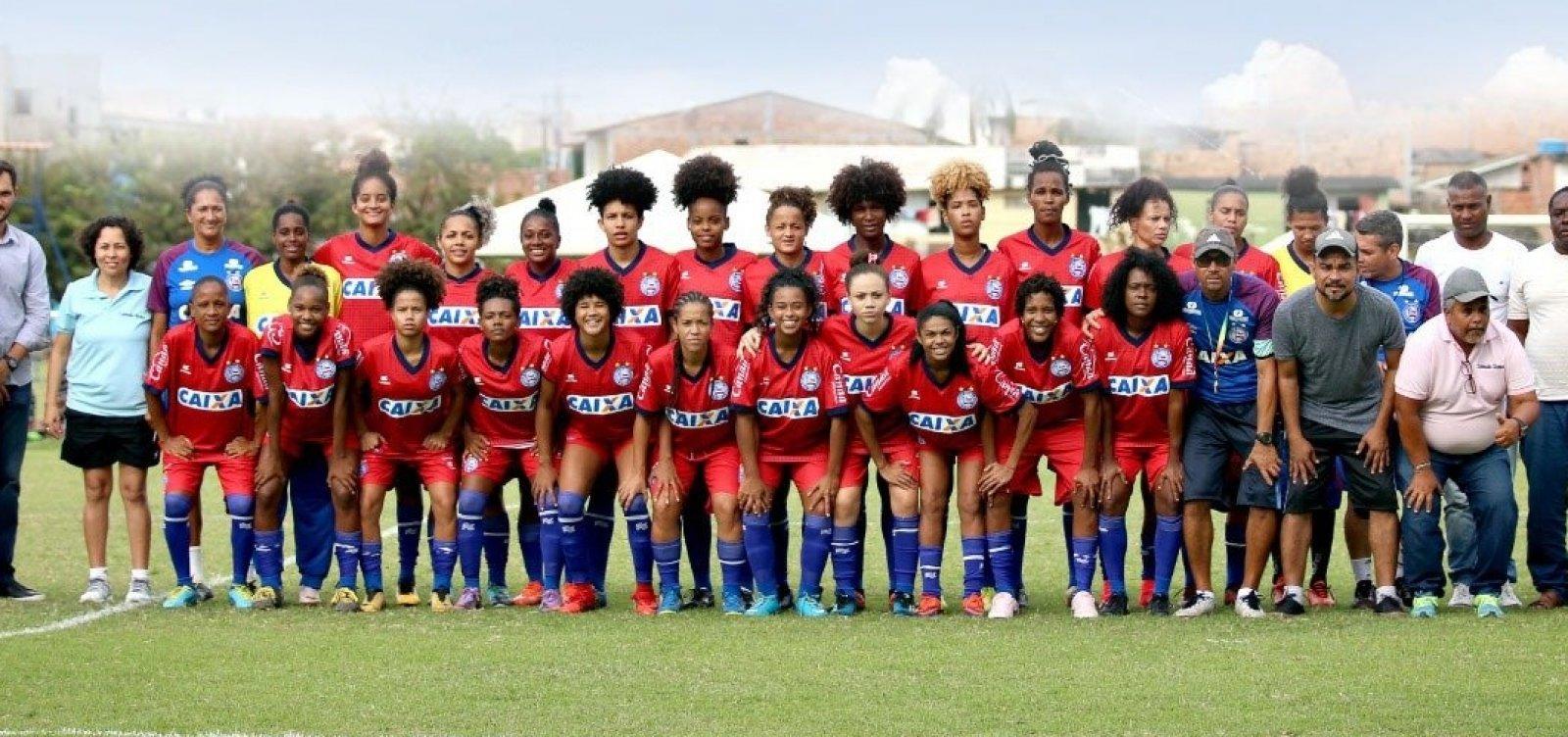[Bahia terá três categorias de futebol feminino em 2019]
