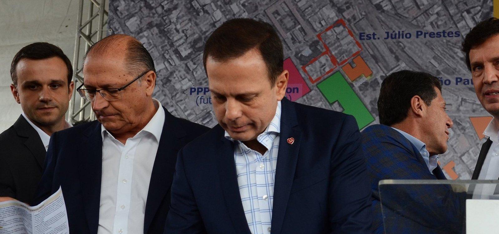 [Alckmin sinaliza que deixará comando do PSDB em maio, diz jornal]