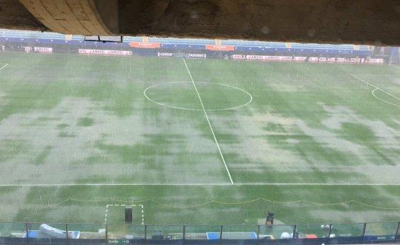 [Por forte chuva, final da Libertadores é adiada pela Conmebol]