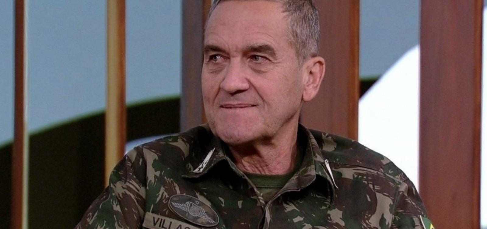 ['Bolsonaro não é volta dos militares', diz Villas Bôas]