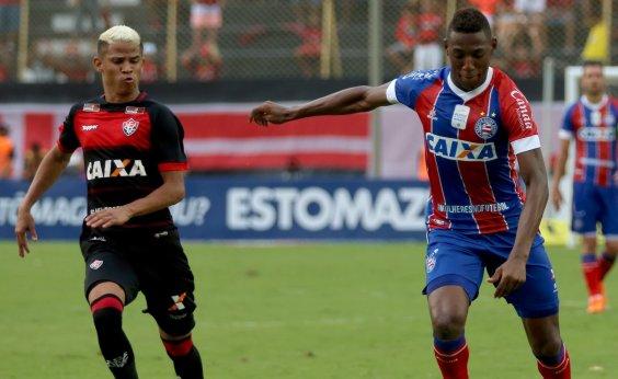 [Vitória e Bahia empatam em último clássico do ano em 2 a 2]