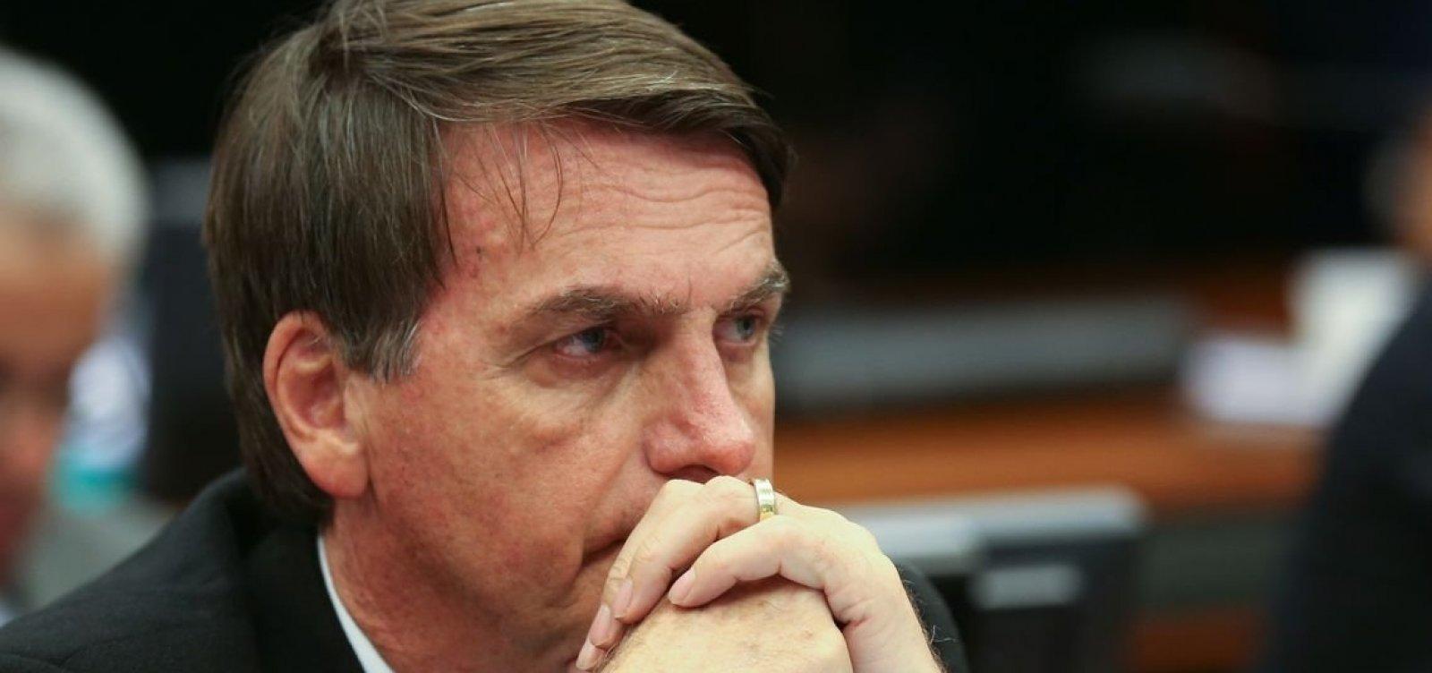 [Bolsonaro reconhece dificuldades para aprovar reforma da Previdência este ano]