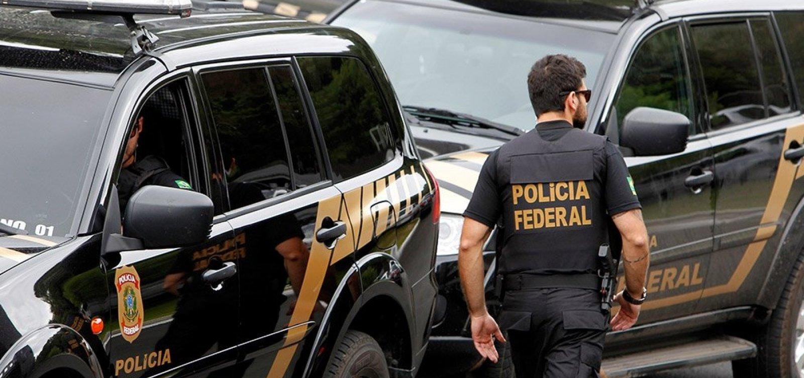 [Polícia Federal deflagra operação em Salvador para combater fraude em importação]
