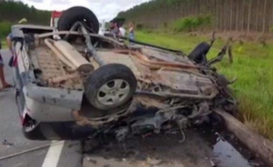 [Filho de ex-vereadora de Itamaraju morre em acidente na BR-101]