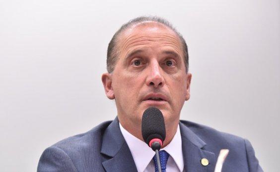 [Onyx Lorenzoni quer que Magno Malta seja ministro de Bolsonaro]