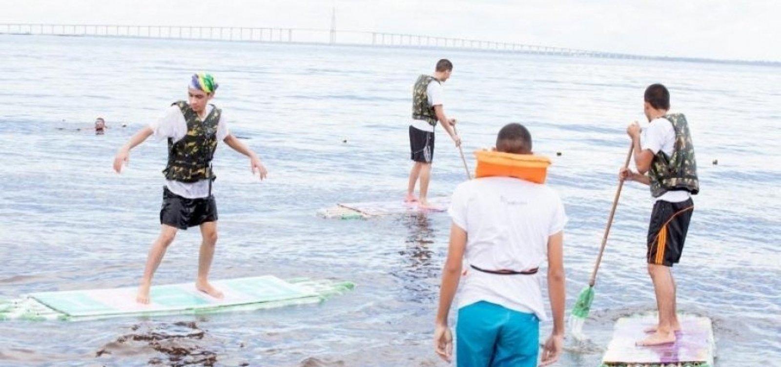 [Após sumiço de praticantes de stand up paddle, Tinoco quer regulamentação da atividade]