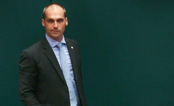 [Eduardo Bolsonaro rejeita acordo com PGR sobre denúncia de suposta ameaça]