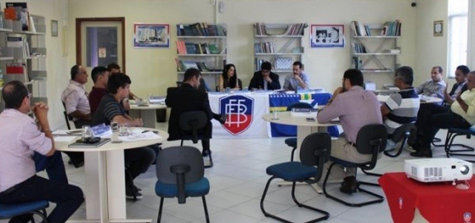 [Baianão 2019: clubes aprovam fórmula do torneio; finais terão árbitro de vídeo]