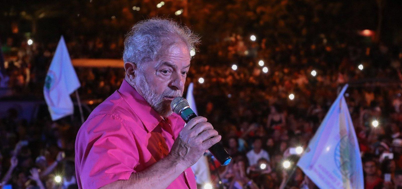 [Ex-presidente Lula depõe hoje sobre sítio de Atibaia]