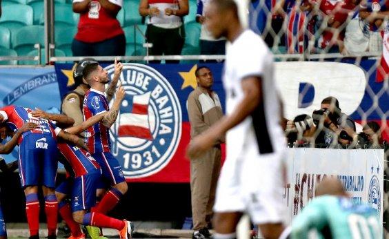 [Bahia vence Ceará de virada por 2 a 1 com gol no fim na Fonte Nova]