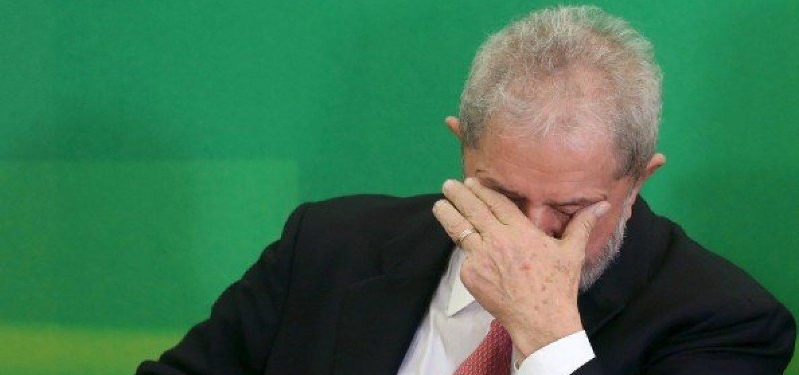 [Após depoimento, Lula já tem duas ações em fase avançada]