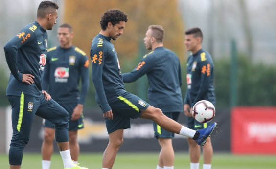 [Sem Coutinho e Marcelo, Seleção Brasileira enfrenta o Uruguai amanhã]