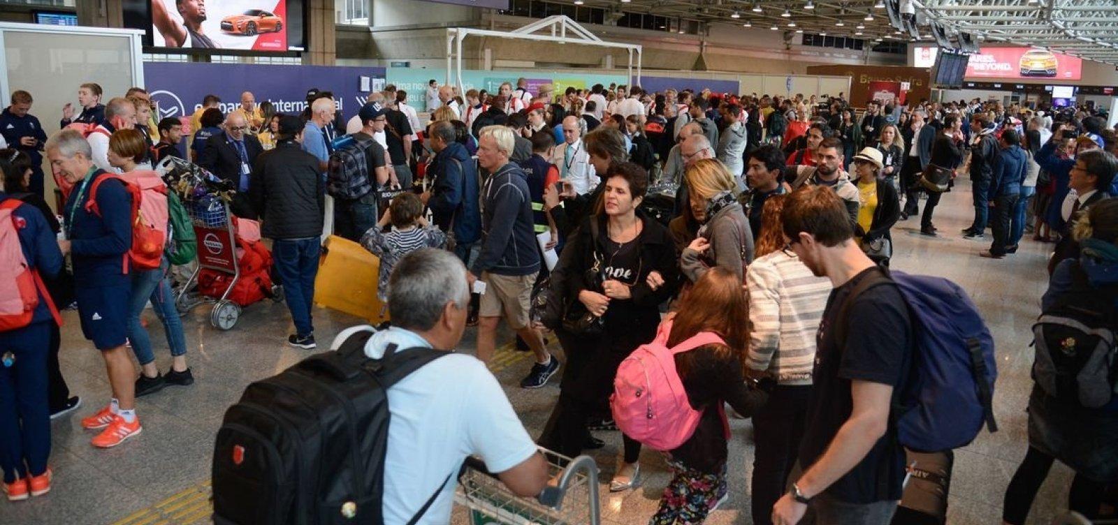 [Aeroportos da Infraero têm 13% dos voos atrasados neste feriado]